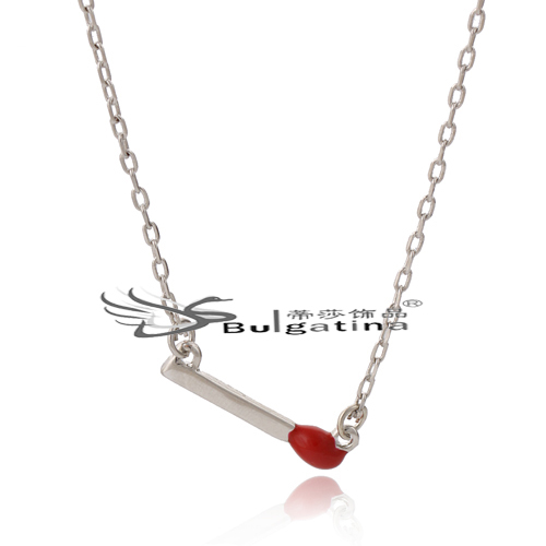 New Hot Christmas Gift Silver Plated Cute Swing Satement Chain Pendant Necklace High Quality Fashion Women Jewelry JA2611-2(China (Mainland))