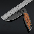 BROWNING X38 outdoor camping knife knives folding knife stainless steel 55HRC practical gifts knife hand tools
