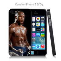 floyd mayweather boxer sports Hard Black Case Cover Shell Coque for iPhone 4 4s 4g 5 5s 5g 5c 6 6g 6 Plus