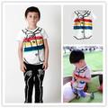 2017 spring summer kids rainbow pattern t shirts boys clothing girls clothing brand kids clothes ins