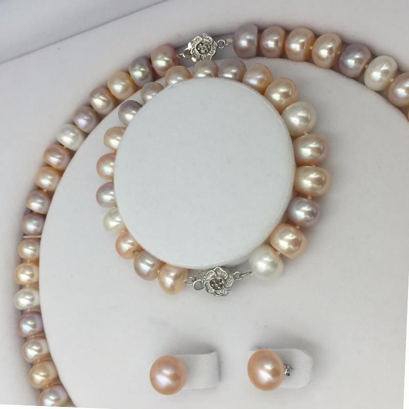 Sinya natural freshwater pearls jewlery set  (10)