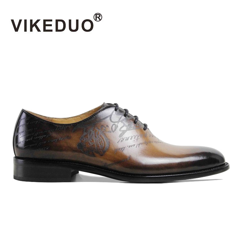 Newest 2016 flat shoes mens italy Oxford Shoes laser printing wedding party Dress shoes 100% Genuine leather Second To Berluti(China (Mainland))