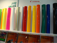 (A4*4pcs) Blue Color PU Vinyl Heat Transfer Vinyl For Clothing Iron On Vinyl PU Film for T shirt Vinyl Textil For Heat Press 602