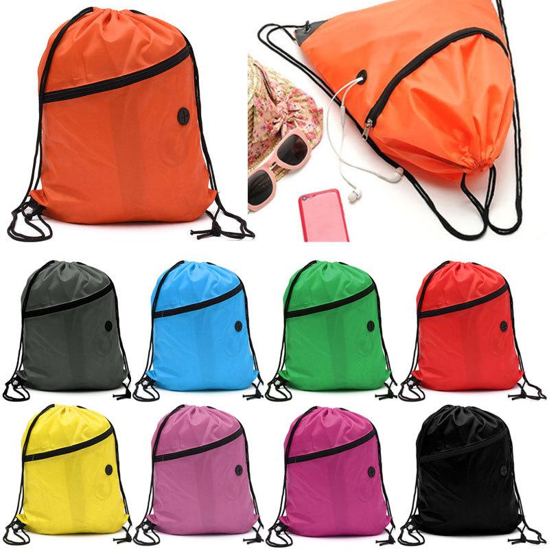 Гаджет  Back Pack Canvas Backpack Swim School Rucksack PE Drawstring Bag Backpack Tote Sport Waterproof Gym Bags Mochilas Mujer 2015 W1 None Камера и Сумки