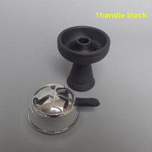 1pc single hole Silicone Bowl And 1pc kaloud Charcoal Holder As 1 lot Suit For Glass Shisha Hookah(China (Mainland))