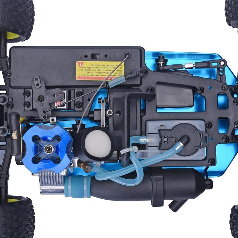 HSP Rc Car 1/10 Scale 2.4GHz RTR 18cxp Nitro 4WD Radio Control RC Nitro Buggy 94166