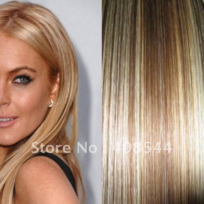 aliexpress clip in remy human hair extensions
