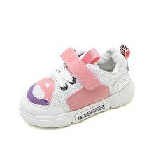 2018 אופנה מגמת צבע תפרים ילדים נעלי אביב סתיו ילדים של נעליים יומיומיות בנים חיצוני ספורט נעלי בנות נעליים שטוחות(China)