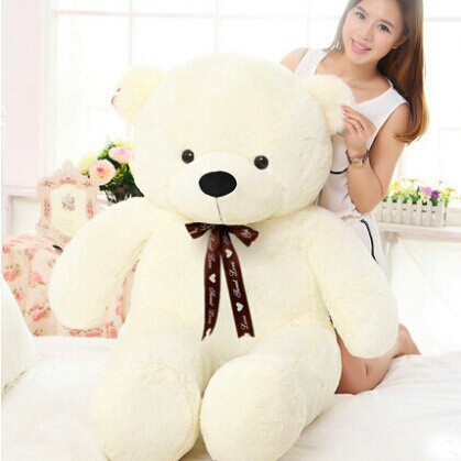 [5COLORS] 80cm cute mini small teddy bear plush stuffed toys big kid baby dolls birthday valentine gift for girls low price(China (Mainland))