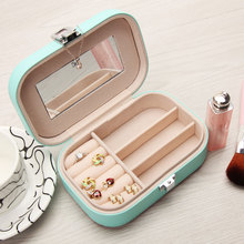 Jewelry Packaging Box Casket Box For Jewelry Exquisite Makeup Case Jewelry Organizer Container Boxes Graduation Birthday Gift(China (Mainland))