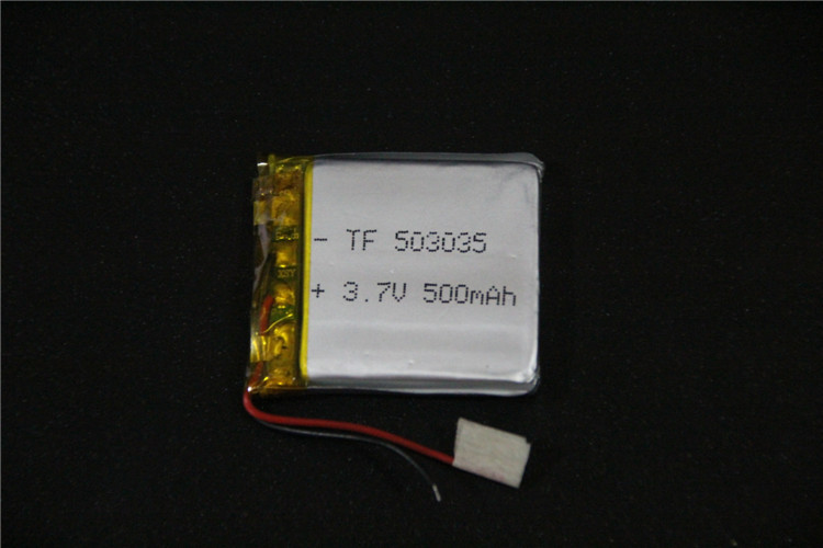 Size 503035 3.7V 500mah Lithium polymer Battery With Protection Board For Car DVR MP3 GPS Digital Pen Free Shipping(China (Mainland))