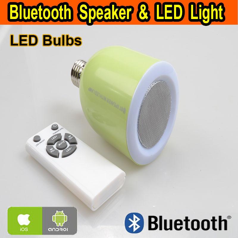 E27 Speaker LED 220V CE Amplifier Night Light Bluetooth Lampadine Lightings Hot Selling For Home Kids(China (Mainland))