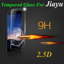2.5D 9H Ultra Thin Explosion-Proof Tempered Glass Film Screen Protector For Jiayu G5 S2 F2 Protective Film Cover Case