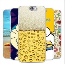 Fashion Cartoon Painting Case HTC One A9 Aero A9W Minions Despicable Superman Transparent Hard Back Cover Cases - merry Qu's store
