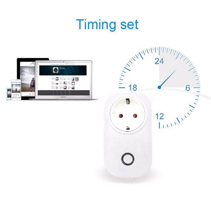 image for  ITEAD Sonoff S20 WIFI Wireless Remote Control Socket Smart Intelligen