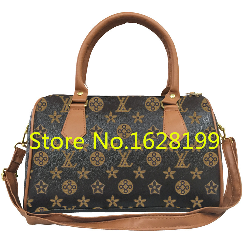 Women Famous Brand Designer PU Leather Barrel Handbag Ladies Small Pillow Shoulder Bag Female Crossbody Bags Sac Femme gw0678(China (Mainland))