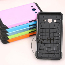 100pcs for Galaxy G355h case,Armor Impact Holster Hybrid Hard Case For Samsung Galaxy Core 2 G355h TPU+hard case Cover+gift