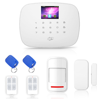 New Alarm system for home Support English and Russian voice 99Wireless 2wired GSM Home Alarm System