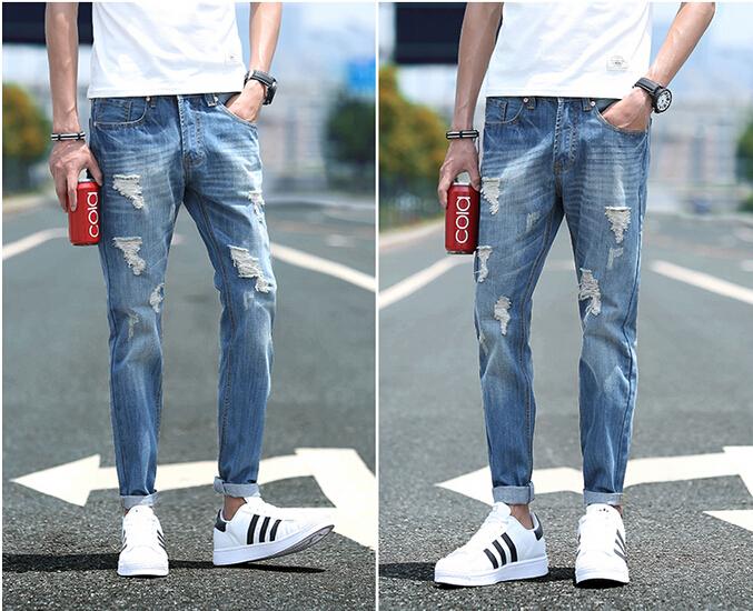 Как сделать рваные джинсы в домашних условиях фото 639