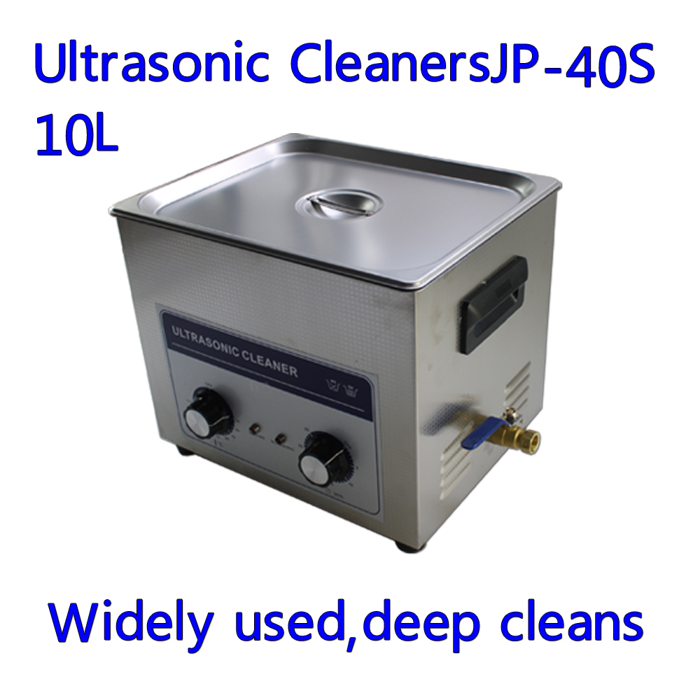 Stainless Steel 240W Ultrasonic Cleaner With Display Ultrasonic Cleaning Machine 10L(China (Mainland))