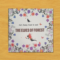 The elves Of forest Coloring book 24 Pages Secret Garden series Styles For Children Adult Relieve Stress Painting Books CB009