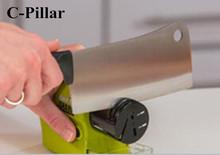 Amolador de Faca Swifty Sharp Precision Power Sharpening Plastic Diamond Motorized Knife Sharpener Household Kitchen Accessories