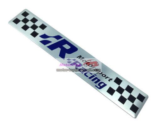Zinc alloy Metal Badge Racing Motor Sport Motorsport Emblems Emblem Sticker  -  topsedan store