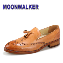 Britannique derbies Mens Faux cuir gland mocassins mode bout pointu Slip On robe Oxford chaussures 3 couleurs US 6.5 - 9(China (Mainland))