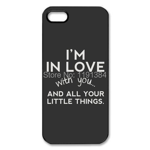 New 2015 Best New Design One Direction Quotes Cell Phone Plastic Hard Case Cover For iphone 4G 4s/ 6 6S(China (Mainland))