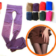 Wholesale New Women Sexy Sheer Crotchless Pantyhose Stockings Tights Lingerie 10 Colors