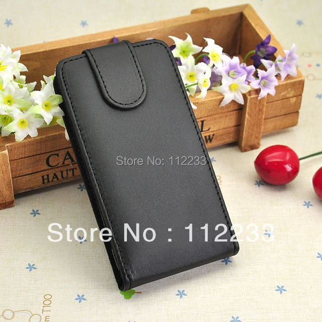 Black Color PU Leather Case For GIONEE GN180 Fluctuation Open Cover Luxury Mobile Phone Protectors Free Shipping