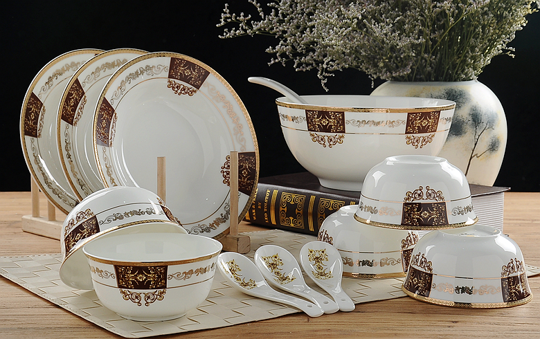 32 piece set royal fine bone china dinnerware set porcelain buffet