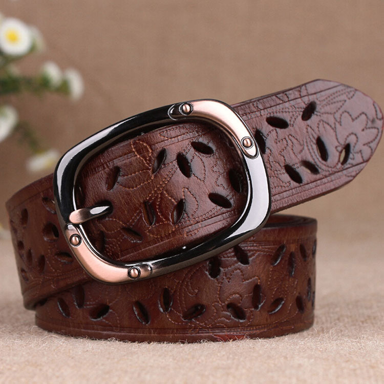wholesale fashion strap for women woman genuine leather belts new arrival female cowskin waistband 100% quality assurance(China (Mainland))