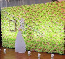 10pcs/lot wedding photo studio background window flower wall flower design hydrangea flower wall decoration wedding background