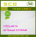 DX4 Printer Head Data Cable For Roland XJ740 640 40cm 21PIN