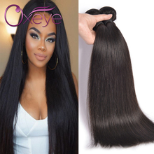 7A Brazilian Virgin Hair Straight 2 Bundles Straight Virgin Hair Human Hair Weave Unprocessed Mink Brazilian Straight Hair Oxeye(China (Mainland))