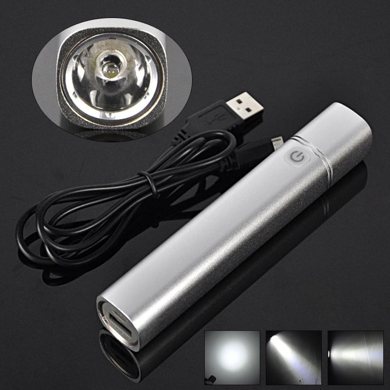 1W Multifunction Mini Lanterna Portable Pocket Flashlight Torch Light &amp; Phone Power Bank Light With 2200mAh Battery+Usb Cable<br><br>Aliexpress