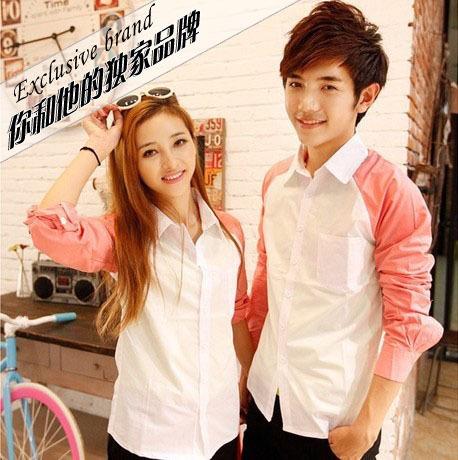 korean couple shirts summer cute matching couple shirts