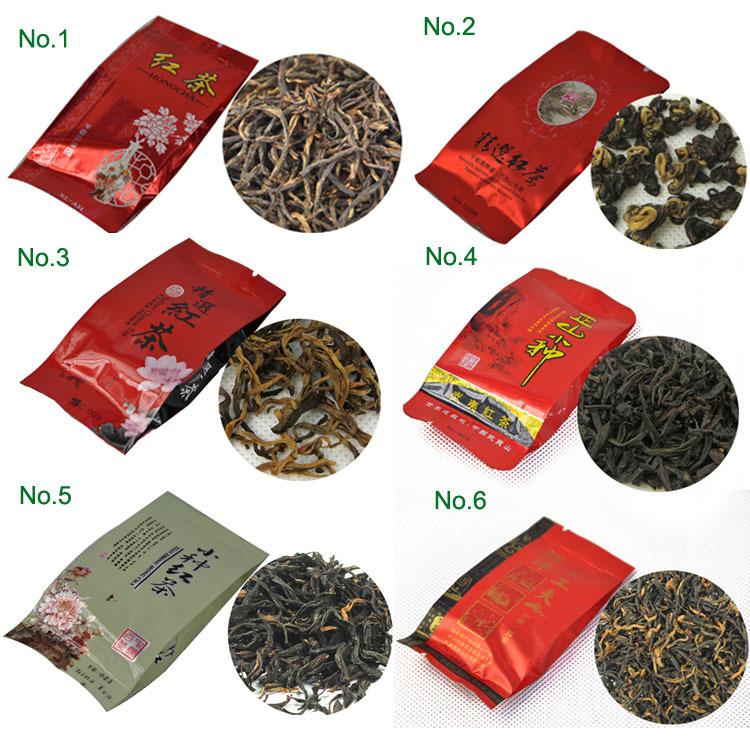 24 Different Flavor Chinese Tea including Black Green Jasmine Flower Tea Puerh Oolong Tieguanyin Dahongpao M01