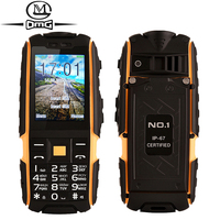 Original NO.1 a9 Russian keyboard IP67 Waterproof shockproof Dual SIM Card mobile cell phone 4800mAh battery FM flashlight