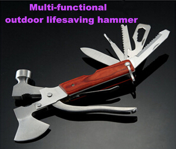 Multifunctional automotive diagnostic tool car safety hammer automotive lifesaving hammer stainless steel outdoor survival tools<br><br>Aliexpress