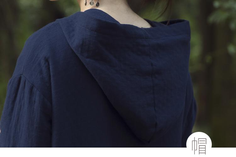 Скидки на Этнические Женщины Пальто Куртки Зима Китайский Национальный Стиль Кнопки Пластины Хлопка Ватник С Капюшоном Длинный Толстый Рыхлый Пальто Куртка