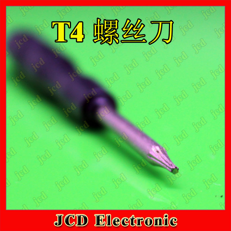 T4 screwdriver mini screwdriver hand tool(China (Mainland))