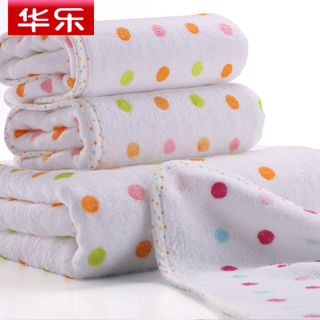 Walrus d62 100% full cotton towel bath towel set baby child bath towel lovers wedding gifts