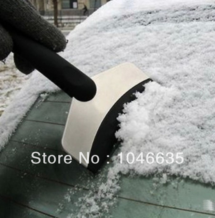 Car snow shovel portable stainless steel de-icing Auto Ice Scraper Cleaning Tools Winter Vehicle Travel Product(China (Mainland))