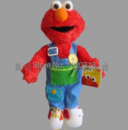 2014 New Arrival Sesame Street Elmo Doll Puppet Plush Toy Christmas Gift Big Bird 38cm Sesame Street Plush Toys<br><br>Aliexpress