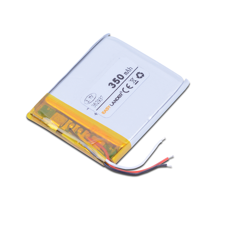 362937 3.7V 350mAh Rechargeable Li-Polymer Li-ion Battery For pen MP3 MP4 DVR tools speaker toys bluetooth heads 353038 363036(China (Mainland))