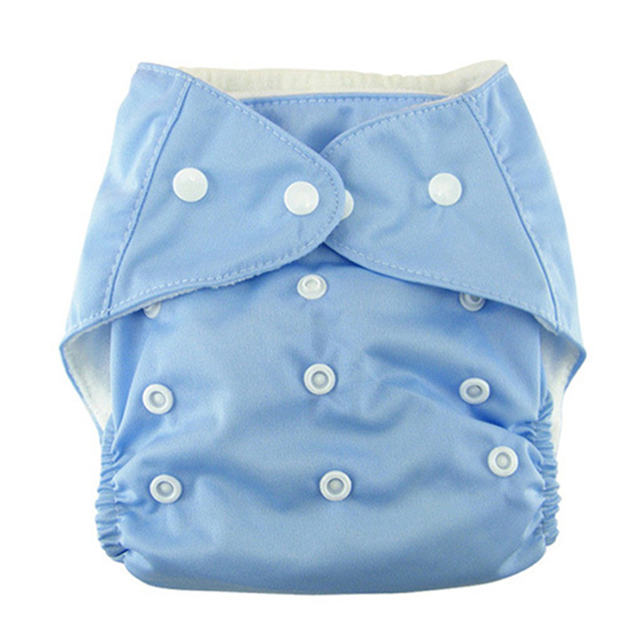 4 Colors Baby Adjustable pants Baby Soft Cloth Waterproof panties embroidery baby diaper trousers 2015 Anne(China (Mainland))