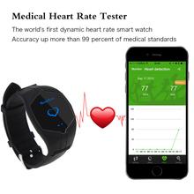 100% новый пульса умный группа Monitorring смарт часы фитнес трекер android-ios Smartwatch телефон спорт Bluetooth наручные часы