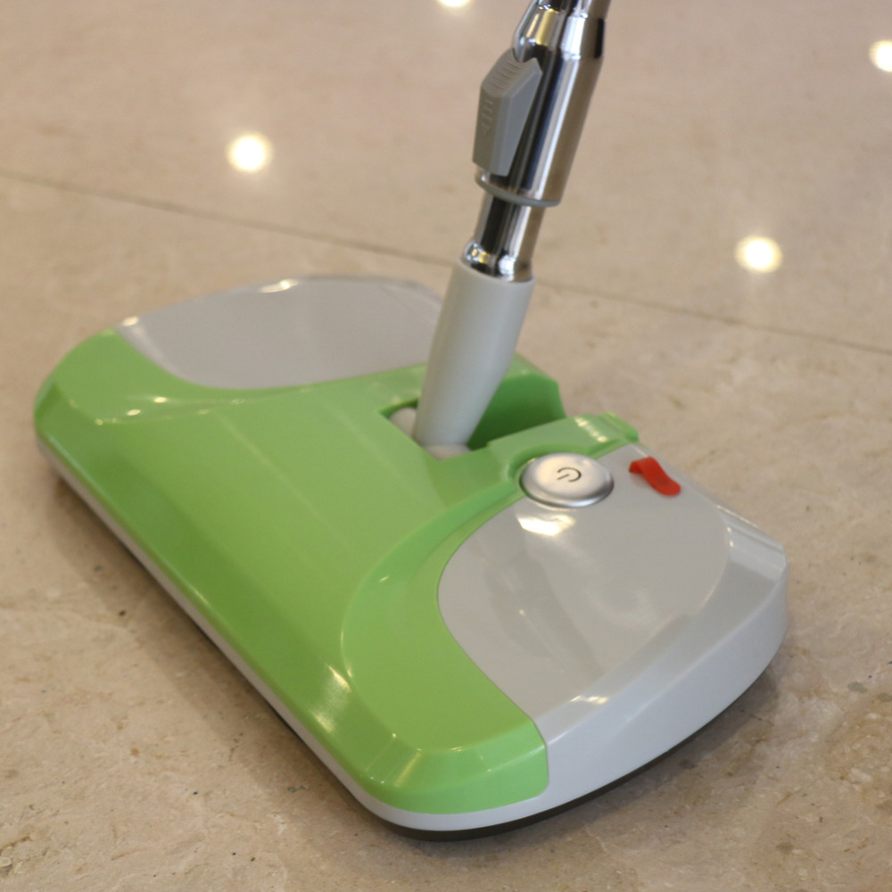 4.8V Stretchable Hight Electric Floor Sweeper Cordless Short Hair Carpet Cleaner Green(China (Mainland))